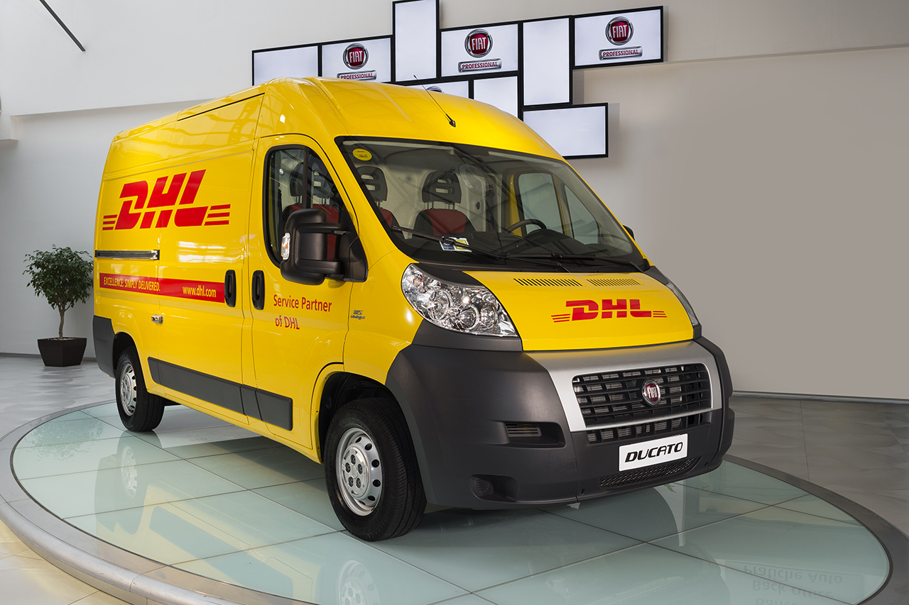 Fiat Professional e DHL Express Italy