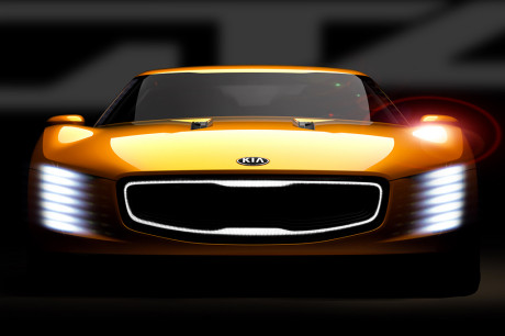 Kia GT4 Stinger