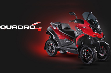 Scooter Quadro - Quadro4