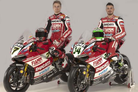 Ducati Superbike Team 2014 - Chaz Davies & Davide Giugliano