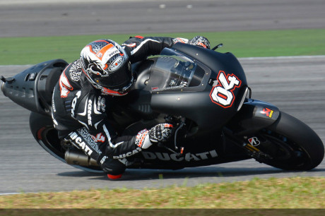 Team Ducati MotoGP - Andrea Dovizioso - Test Sepang 2014