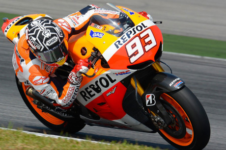 Marc Marquez - Test Sepang Day1
