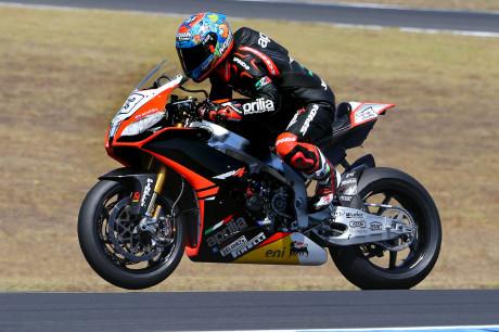 Marco Melandri - Superbike Team Aprilia Racing - Pirelli