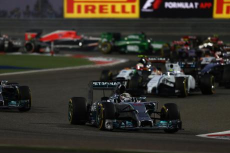 Hamilton - GP Bahrain