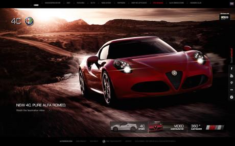 Alfa Romeo 4C Interactive Key Award