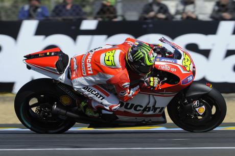 Cal Crutchlow - Ducati Team - Le Mans 2014