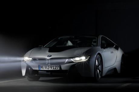 Luce laser BMW