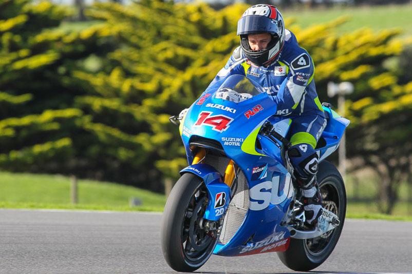 Suzuki MotoGP conclude i suoi test