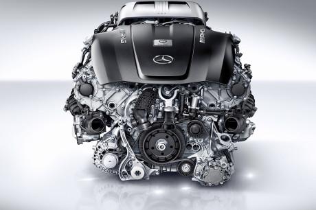 Nuovo motore biturbo V8 da 4 litri AMG