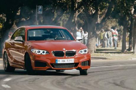 BMW - The Epic Driftmob
