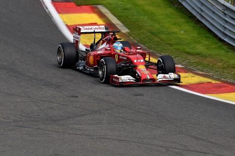Circuito di SPA - Ferrari