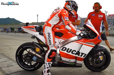 Andrea Dovizioso - Ducati Team - Motegi - Prove libere