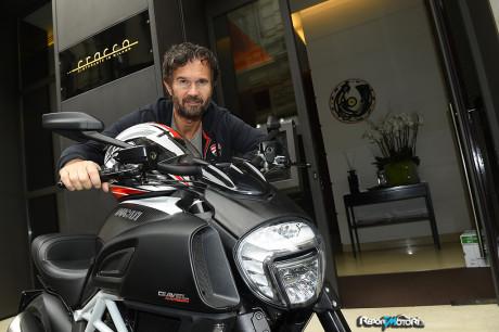 Carlo Cracco sceglie Ducati Diavel Carbon