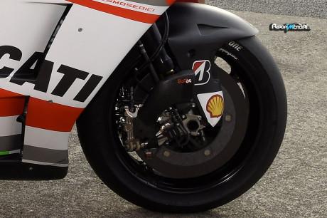 Dischi freno in carbonio - Ducati Desmosedici GP14