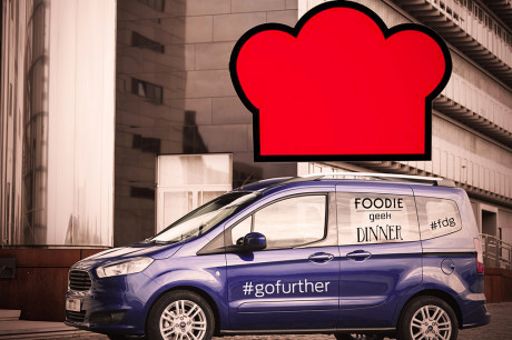 Ford Tourneo Courier - Foodie Geek Dinner