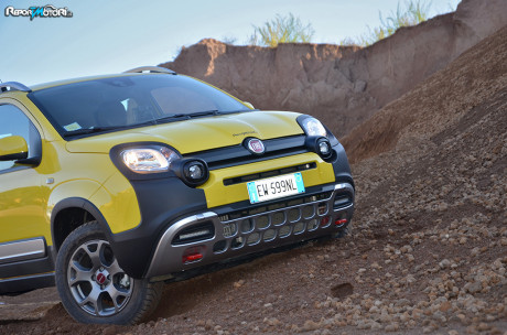 Fiat Panda Cross - Inside the Pit