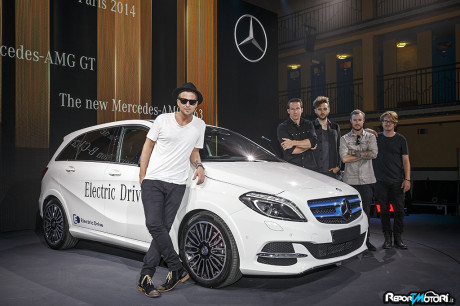Ryan Tedder - OneRepublic - Classe B Electric Drive