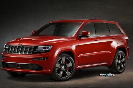 Grand Cherokee SRT Red Vapor