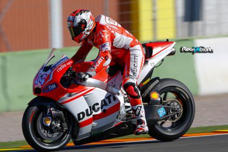 Andrea Dovizioso - Ducati Team - Test Valencia 2014