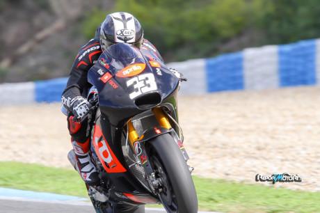 Marco Melandri, Factory Aprilia Gresini, Jerez Test MotoGP