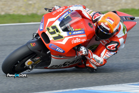 Michele Pirro - Ducati Team - Test Jerez 2014