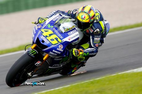 Valentino Rossi - Test Valencia MotoGP 2014