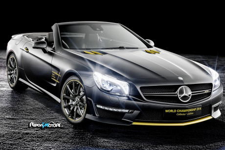 SL 63 AMG - Lewis Hamilton