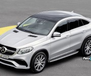 Mercedes GLE Coupé - Detroit 2015