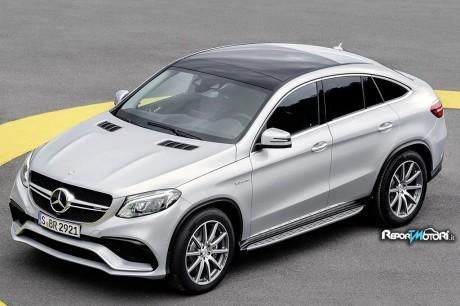 Mercedes GLE Coupé - Detroit 2015