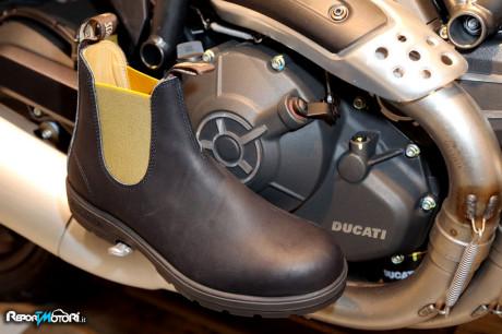 Blundstone Scrambler Ducati