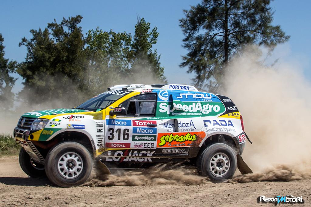 Il Duster Team alla Dakar 2015