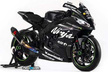 Kawasaki ZX10-R - Monster Energy KRT