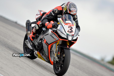 Max Biaggi - Team Aprilia-Red Devils Superbike