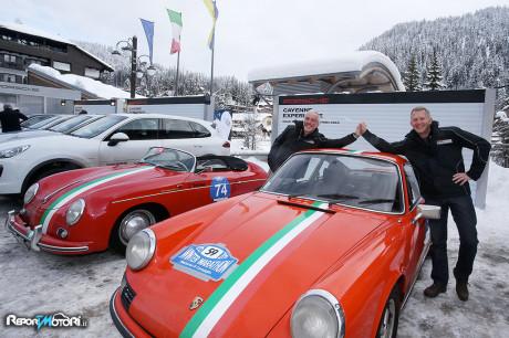 Porsche 911 RS 2.7 Carrera - Pietro Innocenti con Felix Brautigam