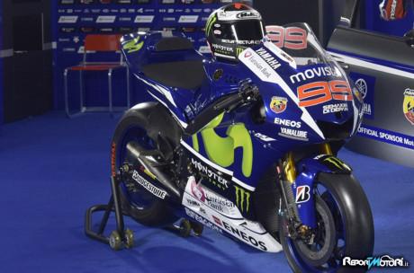 Jorge Lorenzo - Yamaha YZR M1