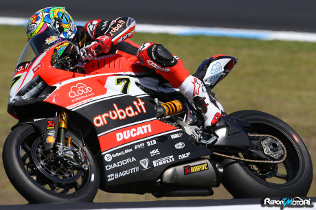 Chaz Davies - Ducati Panigale R - SBK 2015 - Phillip Island