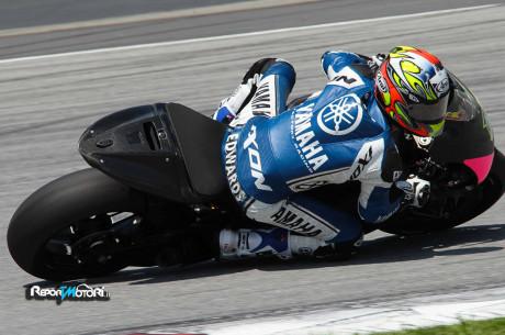 Colin Edwards - Test Sepang MotoGP - Michelin