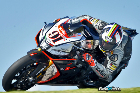 Leon Haslam ( Aprilia Racing Team - Red Devils )