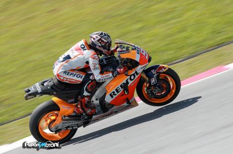 Marc Marquez - Test Sepang MotoGP 2015