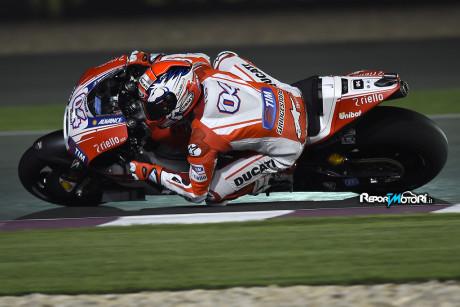 Andrea Dovizioso - Ducati Desmosedici GP15 - Pole Qatar 2015