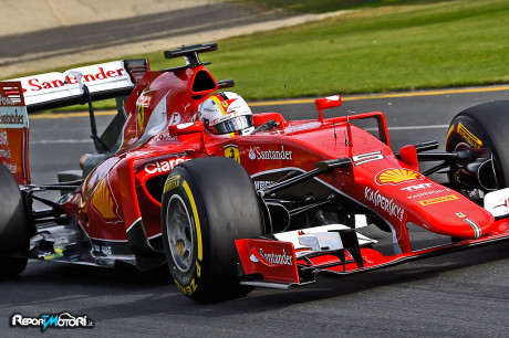 Sebastian Vettel -Ferraro SF15-T - Australia 2015