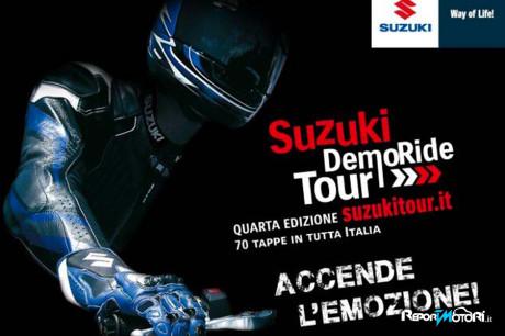 Suzuki Demo Ride Tour 2015