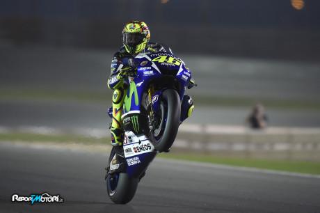 Valentino Rossi - Qualifiche Qatar 2015