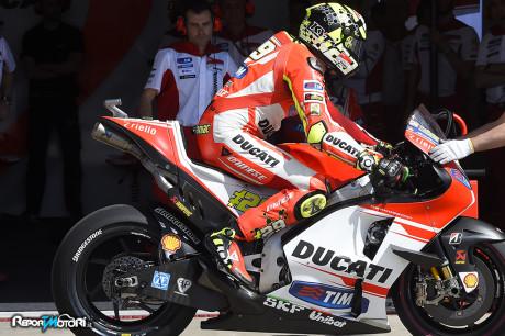 Andrea Iannone - Ducati Desmosedici GP15