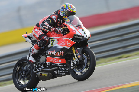 Chaz Davies  - Aruba.it Racing - Ducati Superbike Team