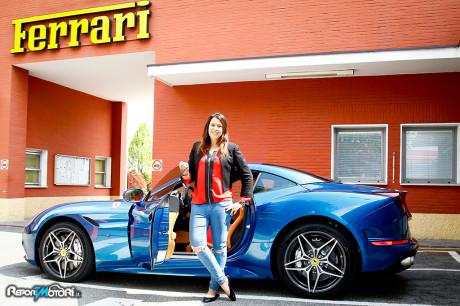 Marion Bartoli - Ferrari California T