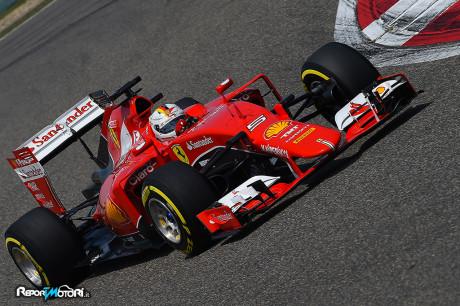 Sebastian Vettel - GP Shanghai 2015