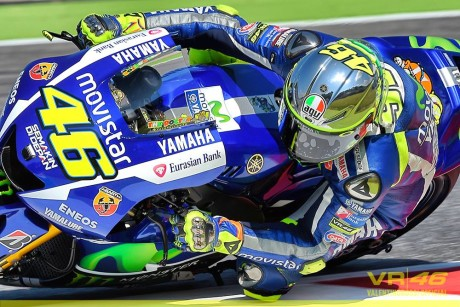 Valentino Rossi - Q2 Mugello 2015