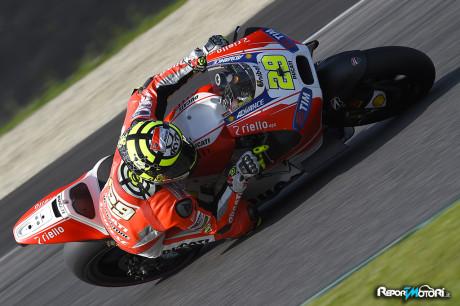 Andrea Iannone - Test Mugello 2015