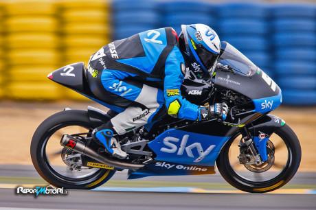 Romano Fenati - Sky Racing VR46 - Le Mans 2015